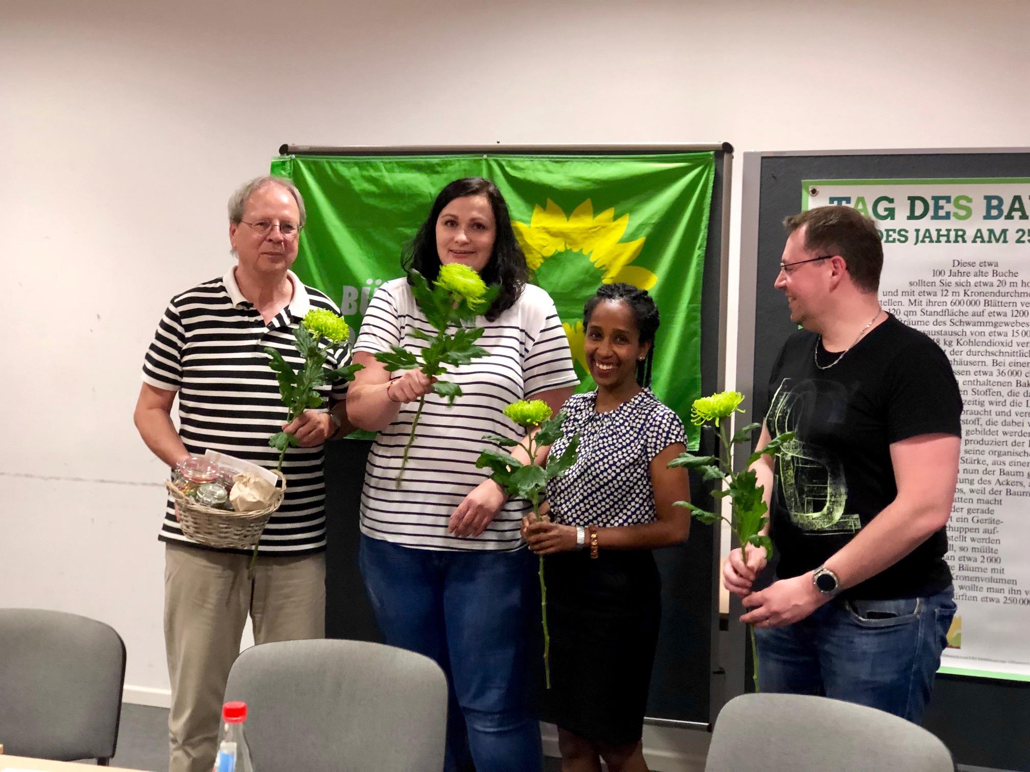 2019-06-05  Grüne Mitgliederversammlung wählt neuen Stadtvorstand